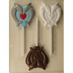 Transfer Chocolate Circulo Verde 40x60 cm