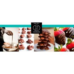 Transfer Chocolate Lineas 2 40x60 cm