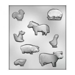 Molde Animales Granja