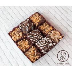 Transfer Chocolate Navidad Osito Blanco 40x60 cm
