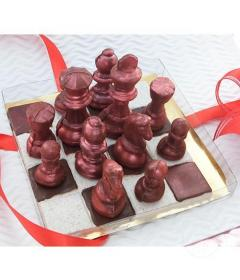 Paleta de Chocolate Santa