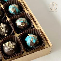 Osito Corazón - Paleta de Chocolate